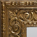 Hand-carved  Frame